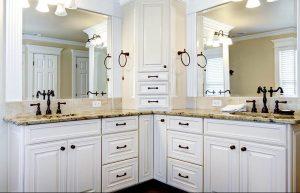 master bathroom cabinet remodel
