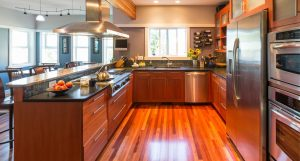Hardwood flooring refinishing and cabinet refinishing
