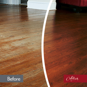 Hardwood floor refinishing company